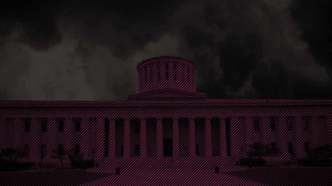 Dark Clouds and the Ohio Statehouse