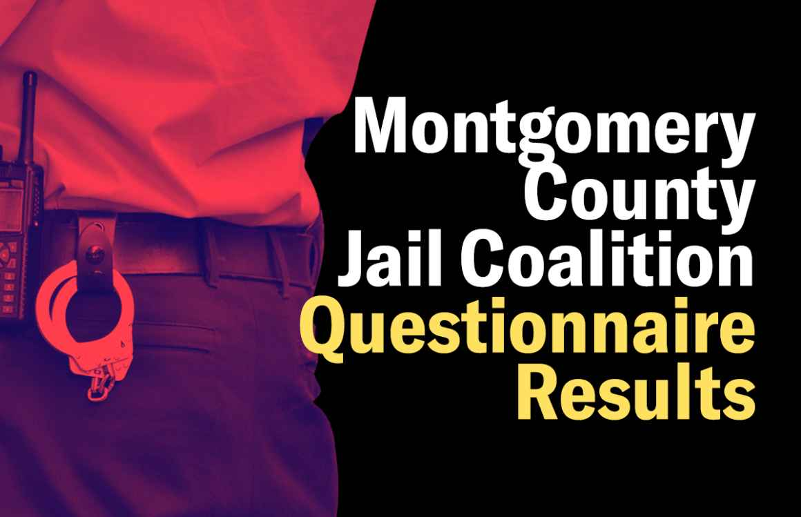 Montgomery County Jail Coalition Questionnaire Results