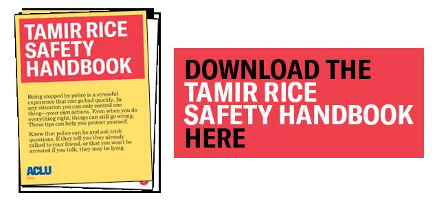 Tamir Rice Safety Handbook - Download